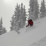 Powder Skiing!