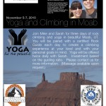 Moab Climbing and Yoga Weekend