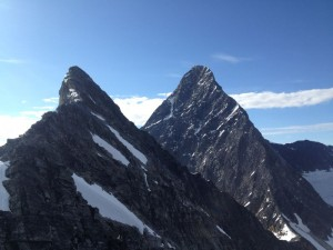 The North Face of Mt Sir Donald